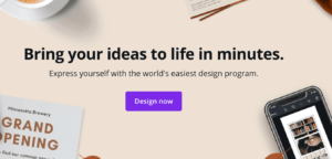 Canva Content Marketing Example