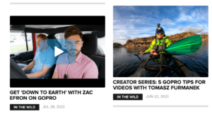 GoPro Content Marketing Example
